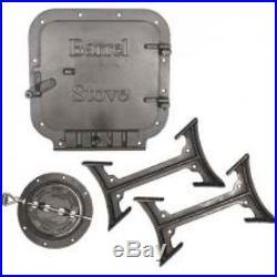Vogelzang BK100E Barrel Stove Kit