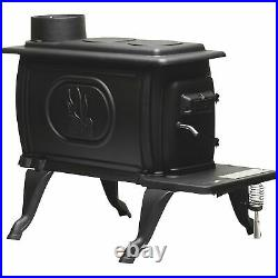 Vogelzang Cast Iron Wood Stove 54,000 BTU, EPA 2020 Certified, Model# US1269E