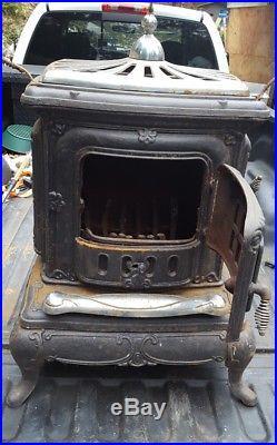 Wood Burning Cast Iron Parlor Stove Cast Iron Stove