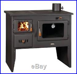 Wood Burning Stove Cast Iron Top Plates Log Burner Cooking Oven Prity 14kw