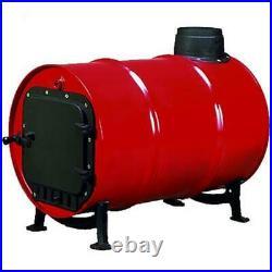 Woodeze 5SV-BSK1000 Wood Burning Barrel Stove Kit